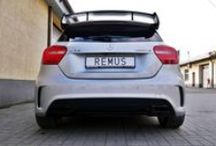 REALIZACJA: Mercedes-Benz A 45 AMG / Choć Mercedesom sygnowanym logo AMG zdecydowanie nie można odmówić rasowego dźwięku, zawsze może być jeszcze lepiej! Tak jest również w przypadku najmniejszego z AMG – kompaktowego A 45 AMG. W sportowym Mercedesie zamontowaliśmy więc kompletny układ wydechowy REMUS INNOVATION z systemem sterowania klapami.  Więcej informacji znajdziecie na naszym blogu: http://www.remus-polska.pl/realizacja-mercedes-benz-a-45-amg/  Zapraszamy do Remus Polska!