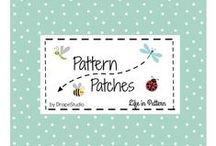 Pattern Patches / Just for  Baby & kids  - personalized fabric, blankets and gifts designed by Drape Studio. Visit www.patternpatches.com
