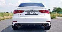 REALIZACJA: Audi S3 Sedan / Tym razem do naszego serwisu trafiło Audi S3 w wersji Sedan. Białe Audi z 300 konnym silnikiem oraz napędem Quattro zapewniało całkiem przyjemne osiągi, jednak rozczarowywało swoim zachowawczym brzmieniem. Aby temu zaradzić zamontowaliśmy w prezentowanym egzemplarzu sportowy układ wydechowy cat-back z klapami REMUS.  Więcej informacji na naszym blogu: http://www.remus-polska.pl/realizacja-audi-s3-sedan/  Wyłączny Dystrybutor REMUS INNOVATION Remus Polska - http://www.remus-polska.pl/
