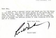 Roald Dahl's letters / by Roald Dahl