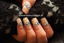 Nail Art / Some awesome nail designs! From that magnetic kind to the very detailed works of cutex. There's bound to be a funky idea to use somewhere around here that'll get eyes looking at your finger-(or toe)-nails! =D / by Jamie Marais