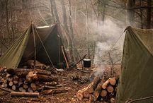 Coureurs des bois / Bushcraft / Vie dans la nature et autonomie