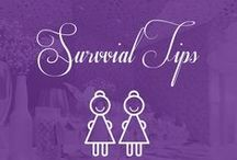Bridal Shows - Tips & Tricks / Whether you need to plan your entire wedding or fill in a few missing pieces, Bridal shows are the perfect place to gather information, meet with prospective suppliers, get new ideas and have a lot of fun!   Here are some survival tips to make the most out of the day: