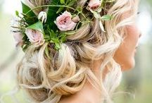 Hair. / We at Bridal Room believe a woman's hair is a symbol of her personality, strength, and beauty, so it should be no different on her wedding day. From elegant up-do's to beach waves, find inspiration from these beautiful wedding hairstyles for your big day.