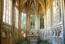 Cathedrals, Churches, Chapels / Christian Churches, Chapels, Cathedrals, houses of worship, church interiors, cathedral windows, stained glass windows, rose windows, cathedral architecture, old churches, abandoned churches, historic churches, Cathedrals in Europe, American churches, small chapels, rural churches, country churches