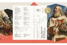 Cod. 279: Serie divisionale FDC 2016 / Data emissione: 27 giugno 2016 Tiratura massima: 15.000  esemplari Bozzetti : Frantisek  Chochola  (parte dritto) e Luc  Luycx (parte rovescio) Incisioni: Ettore Lorenzo Frapiccini Coniazione: I.P.Z.S. ROMA Confezionamento: Lada Prezzo di vendita: € 26,00+ IVA vigente per i residenti in Italia Se ritiri a San Marino il prodotto è esente IVA.