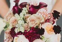 The Bouquet. / A bride's wedding bouquet truly speaks to her style. Her favorite flowers, colors and style all get included in this stunning wedding accessory. Get inspired by these beautiful wedding bouquets.