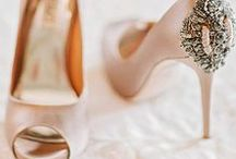Wedding Shoes. / Look flawless from head to toe! Get inspired by these beautiful styles for your big day.