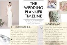 Tips & Tricks. / Everything you need to know about planning your wedding. What to expect, day of timelines, checklists & budget tools.