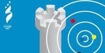 Cod. 646: Giochi dei Piccoli Stati d'Europa San Marino 2017 / Data di emissione: 7 marzo 2017 Valori: n.2 valori da €2,00 ed €2,50 in fogli da 12 francobolli Tiratura: 30.000 serie Stampa: offset a quattro colori, un Pantone, inchiostro invisibile giallo fluorescente a cura di Cartor Security Printing Dentellatura:13¼ x 13 Formato francobolli: 30x40 mm Bozzettisti: Stefania Borasca (€2,00) e Matteo Sammarini (€2,50)