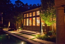 Tuscan Villa / Principal architect Bobby McAlpine & project architect Chris Tippett agree with landscape architect Mike Kaiser that the Villa is successfully organized around spatial relationships that incorporate the setting & gardens, carefully marrying the interior & exterior spaces.