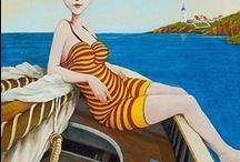 FRED CALLIERI, peintre américain
