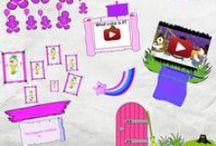 Glogs / Murales interactivos para inglés Educación Infantil