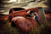 Old trucks / by Sheri Dietert