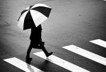 Un monde sous la pluie ... / by Mélanie BOILE