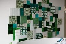 Patchwork Inspiration / Anything and Everything Patchwork. Brightening up homes worldwide. #tiles