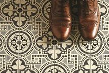 Victorian Style / From pathways to bathrooms the Victorian style is still as current as ever. #tiles