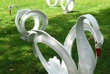 Ideias diversas com material reciclável