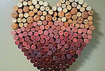 Projects - wine bottles & corks / by Sheri Dietert