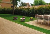 Outside Spaces / Gardens and outdoors spaces. #tiles #outdoor #porcelain #frostresistant #decking #uk