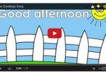GREETINGS / Greetings videos and songs for kids