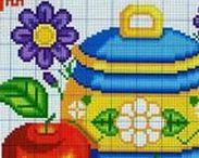 haftowane owoce i warzywa