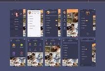 Mobile Apps Design / / #UX #UI #Apps #mobile #webdesign #graphism #design #ergonomy
