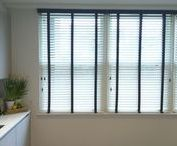 Our Venetian Blind Installations / Examples of venetian blind fittings we have undertaken as part of our Measuring and Fitting service, offered in London & Brighton. All our blinds are made to measure and are made in the UK. Prices for bespoke venetians start from just £76. Visit theblindshop.com or call 01273 462196 for more information.
