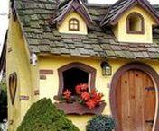 bajkowe  domy