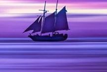 fiolet / kolor ten  to : elegancja - szlachetność
