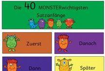 Deutsch / Ideen für den Deutschunterricht :)