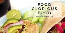 Food glorious food! / Tested recipes, Easy preparation, Family favorites, Healthy alternatives, Vegetarian delights, Classics made easy