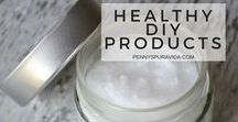 Healthy DIY Products / Make your own healthy personal care and household products. Live and thrive without dangerous chemicals in your life.
