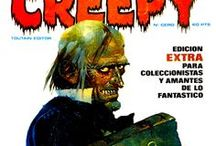 Creepy T1-Spain-Covers / Comic covers