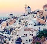 Places to go: Santorini / Ideas & inspiration for places to visit & things to try in Santorini.