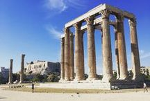 Places to go: Greece / Ideas & inspiration for places to visit & things to try in Greece.
