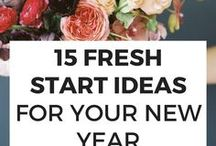 New Year Refresh / Articles & advice about making the most of the fresh start feeling that comes with the beginning of the new year.