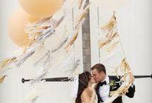 Wedding: Gold / weddings in gold