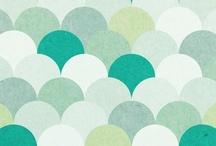 Print & pattern / Printtejä, kuvioita ja tekstiilisuunnitteluideoita.