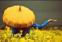 Photoshoot: singing in the rain