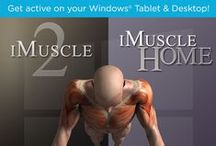 Fitness & Health Apps / Featuring our award winning iMuscle 2 fitness App, along with our new iDance! App.  iMuscle 2 - http://applications.3d4medical.com/imuscle2  iDance! - http://applications.3d4medical.com/idance/