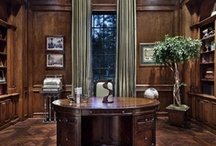 Tradional home offices / by Gail Bauer (cheekyoziechick)