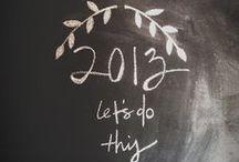 2013 / Things to tick off my bucketlist