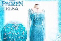 Elsa Costume / by Nicole Lewis