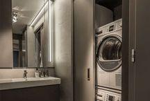 MAISON p r o p r e .et. b o n / Utility room// laundry room// linen closet