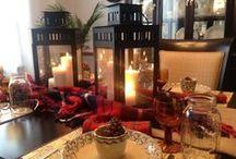 Decor   Winter Decorating / Winter decor, tablescape and accessories to brighten the winter home