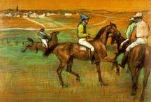 Cavalo - Edgar Degas