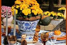 Decor   Blue and White Decor / A collection of lovely blue and white home decor, china, pottery, linens and flowers.