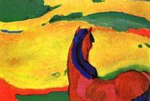 Cavalo - Franz Marc