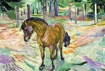 Cavalo - Edvard Munch